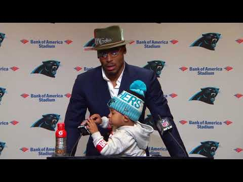 Chosen Newton interrupts his Dad's presser