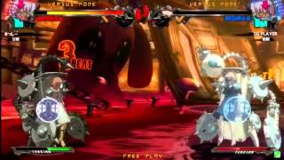 2015/7/25 GGXrd Mikado 3on3 Part 1