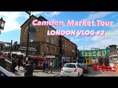 Touring Camden Market! + London Street Food 🍽 | LONDON VLOG #2
