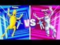 IMPOSSIBLE FORTNITE DROPPER Boy vs Girl Challenge! (Husband vs Wife)