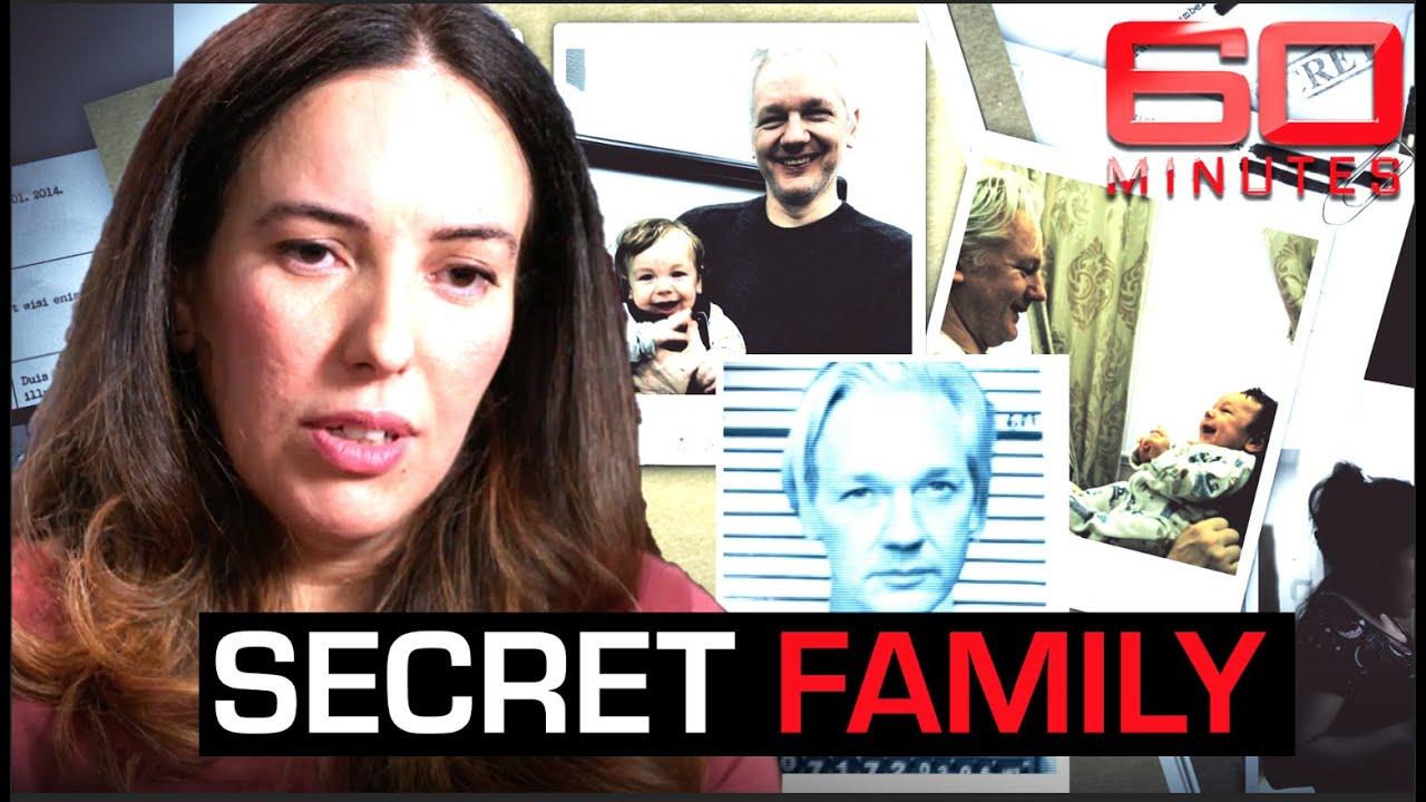 Julian Assange's hidden family revealed: top secrets inside the Embassy   60 Minutes Australia