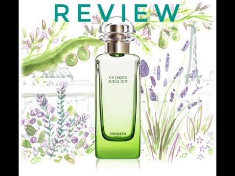 описание аромата Hermes Un Jardin Sur Le Toit Youtube