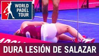 La lesión de Alejandra Salazar #FuerzaAle | World Padel Tour