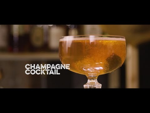 How to Drink: Champagne Cocktail