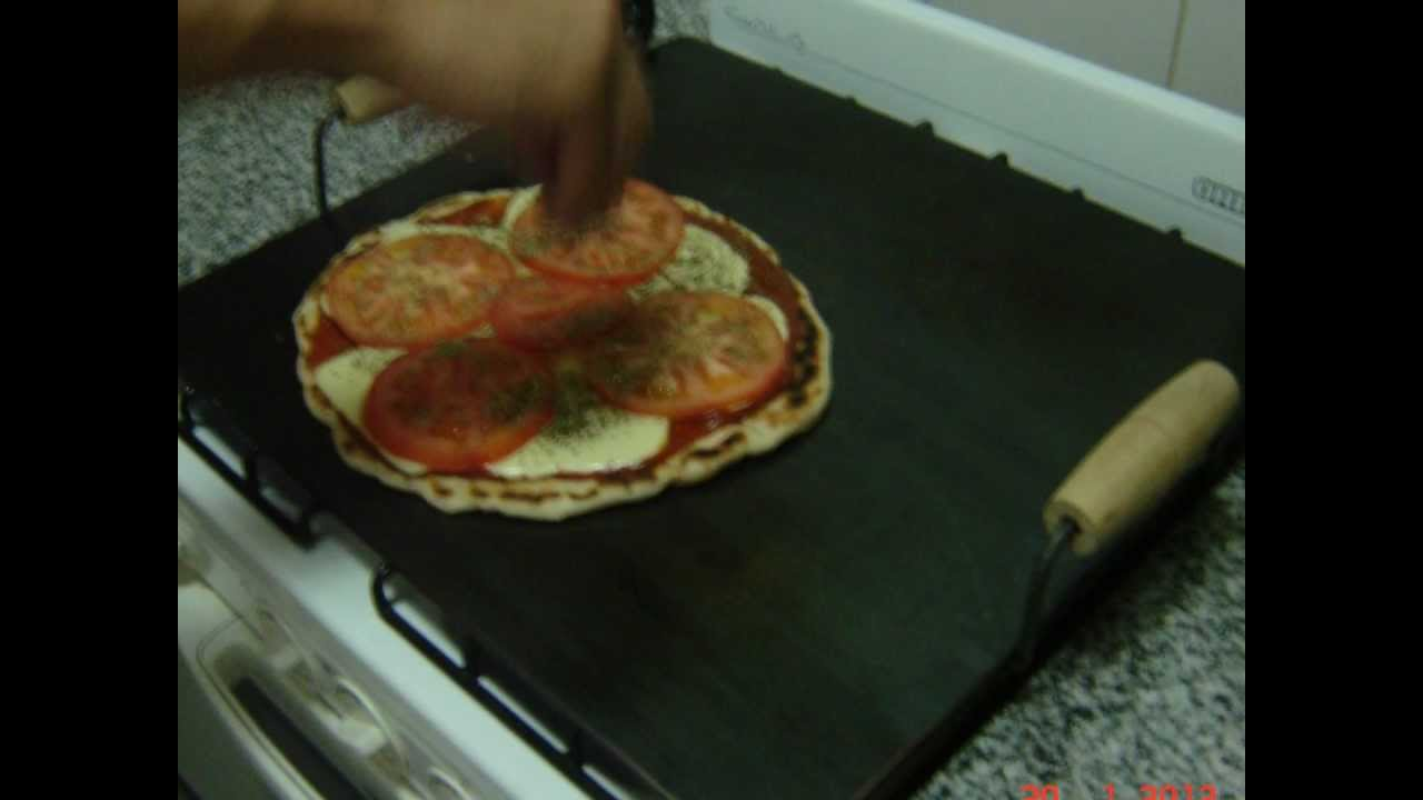 Pizza a la cocina sobre chapa cocinar a la chapa for Cocina para cocinar