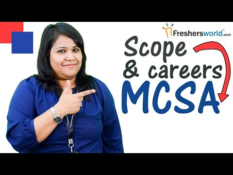 Careers and Training courses for MCSA - Microsoft certification, CCNA,Networking