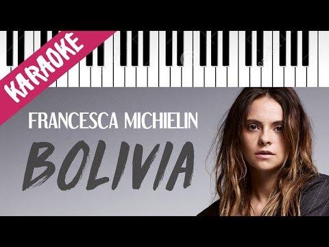 Francesca Michielin | Bolivia // Piano Karaoke con Testo