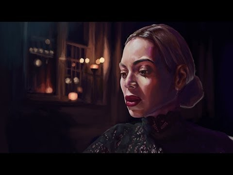 Painting Beyonce Project  Jealous  Illustration Timelapse