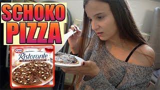 Der Schokoladen Pizza Test  , Top oder Flop ?  - Celina