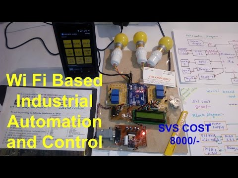 Wi Fi based industrial automation and control