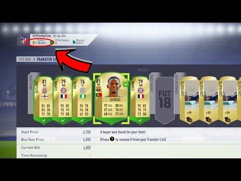 FIFA 18 WEBAPP & EA ACCESS TRADING METHODS | TRADING TO GLORY #2 | FIFA 18 ULTIMATE TEAM