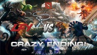 Dota TI7 - Crazy ending!