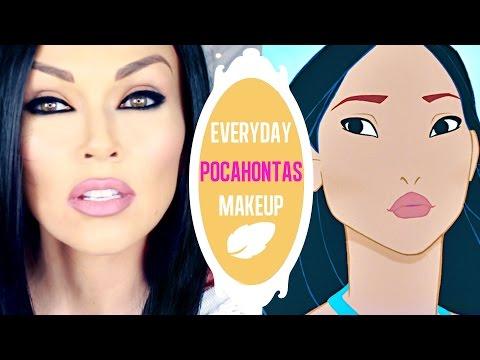 Everyday Pocahontas Makeup | Kandee Johnson