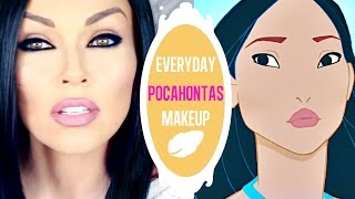 Everyday Pocahontas Makeup | Kandee Johnson