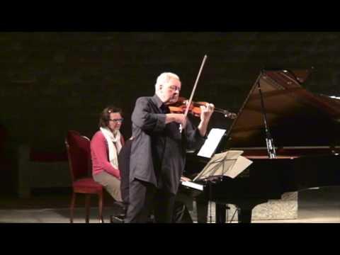 Nicolas Chumachenco Josep Colom Brahms Canfranc 2016