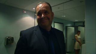 Nev inspects the ladies toilet - The Call Centre - Episode 4 - BBC Three