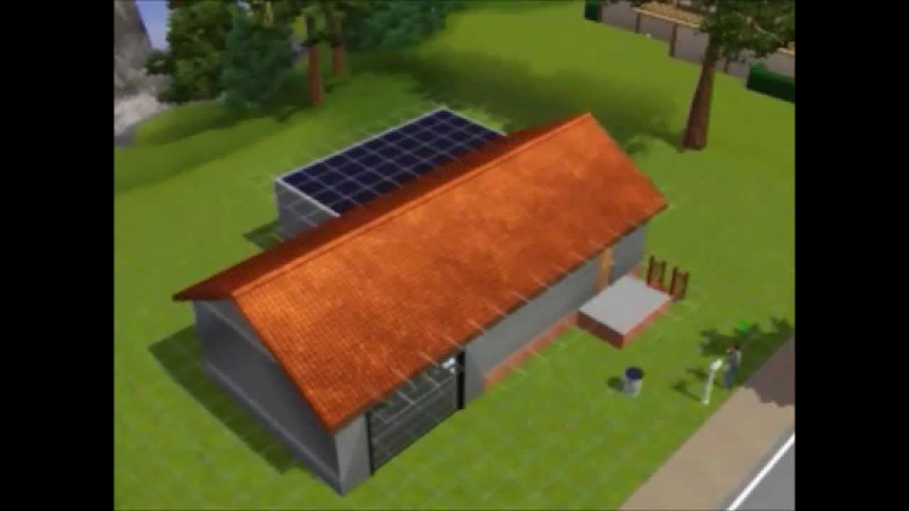 Sims  How To Build A Garage With Foundation