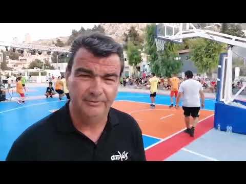 """Ξεκίνησε το """"CBA 3on3 Basketball Festival"""" που διοργανώνει η Ακαδημία Καλύμνου"""