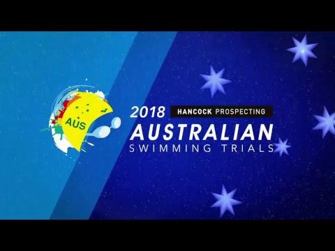 Day 2 - Hancock Prospecting Australian Swimming Trials