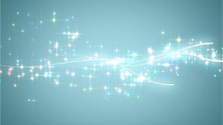 【旧】らぼわん プロフィールムービーの無料素材 キラキラと輝く光の軌跡 thumbnail