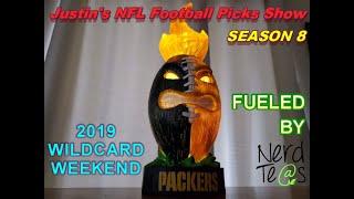 Wildcard Weekend   Justin's 2020 NFL Playoffs Picks Show