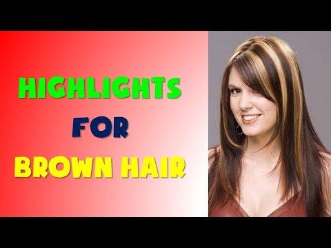 45+ Highlights For Brown Hair Women 2018 - 2019
