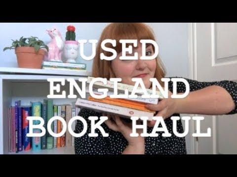 USED ENGLAND BOOK HAUL + SHAKESPEARE & CO.