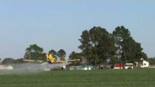 AT-301 Crop Dusting in Hertford, NC by Jonny B. Good