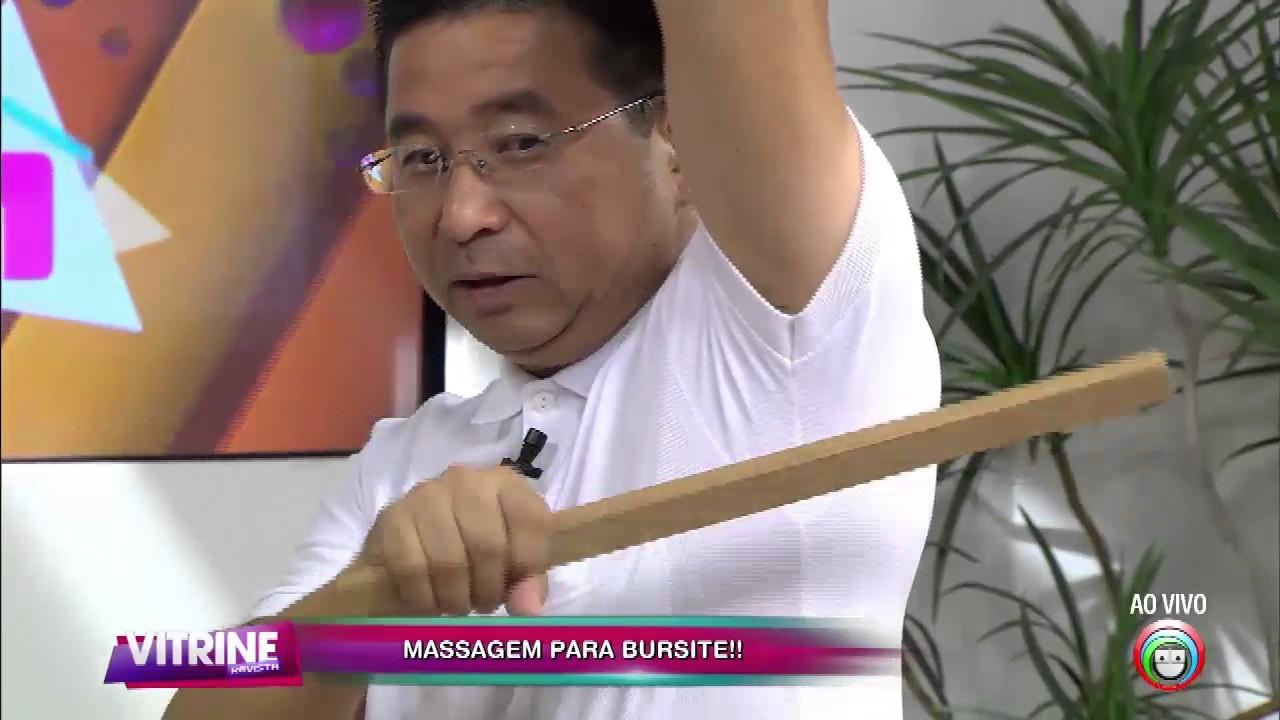 como curar tendinite e bursite no ombro