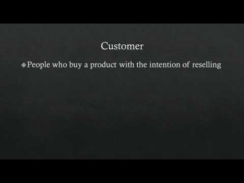 Consumers Vs Customers