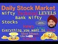 Stock Market Daily #5 🔥- Support, Resistance, Nifty, Bank Nifty, Sun Pharma, Yes Bank, Kotak, SBI