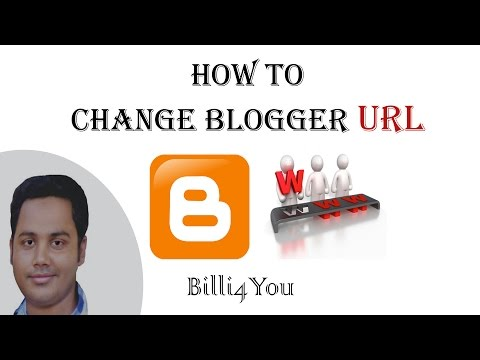 How To Change Title And URL Address of Blog Blogger -  Step By Step Tutorial 6 - 2014 Hindi/Urdu