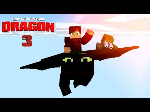 MonsterSchool : How To Train Your Dragon 3 - Minecraft Animation