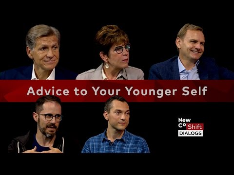 Top executives give their 20-year old-selves advice