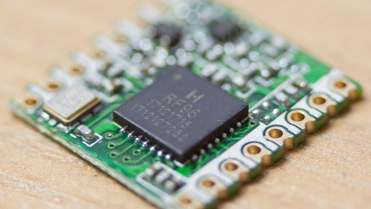 Радиомодули <b>LoRa</b> RFM96W, обзор и тест совместимости с ...