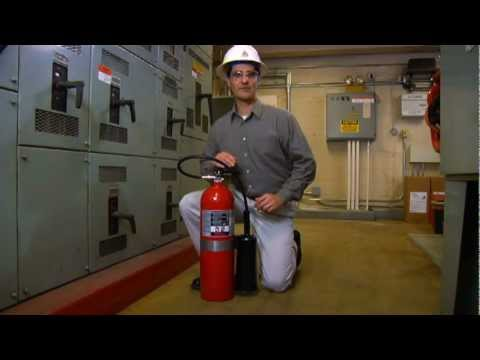 Ansul Sentry CO2 Fire Extinguishers