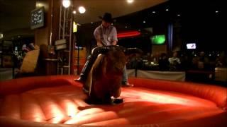 Sam's Town Mechanical Bull Riding - Rankest Round Ever !!!