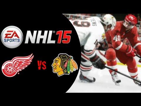 NHL 15: Chicago Blackhawks Vs Detroit Red Wings