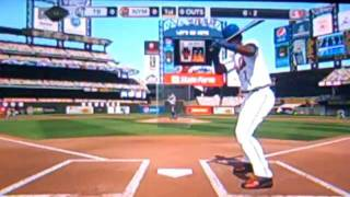 MLB 2k10 Gameplay - Mets vs. Rays