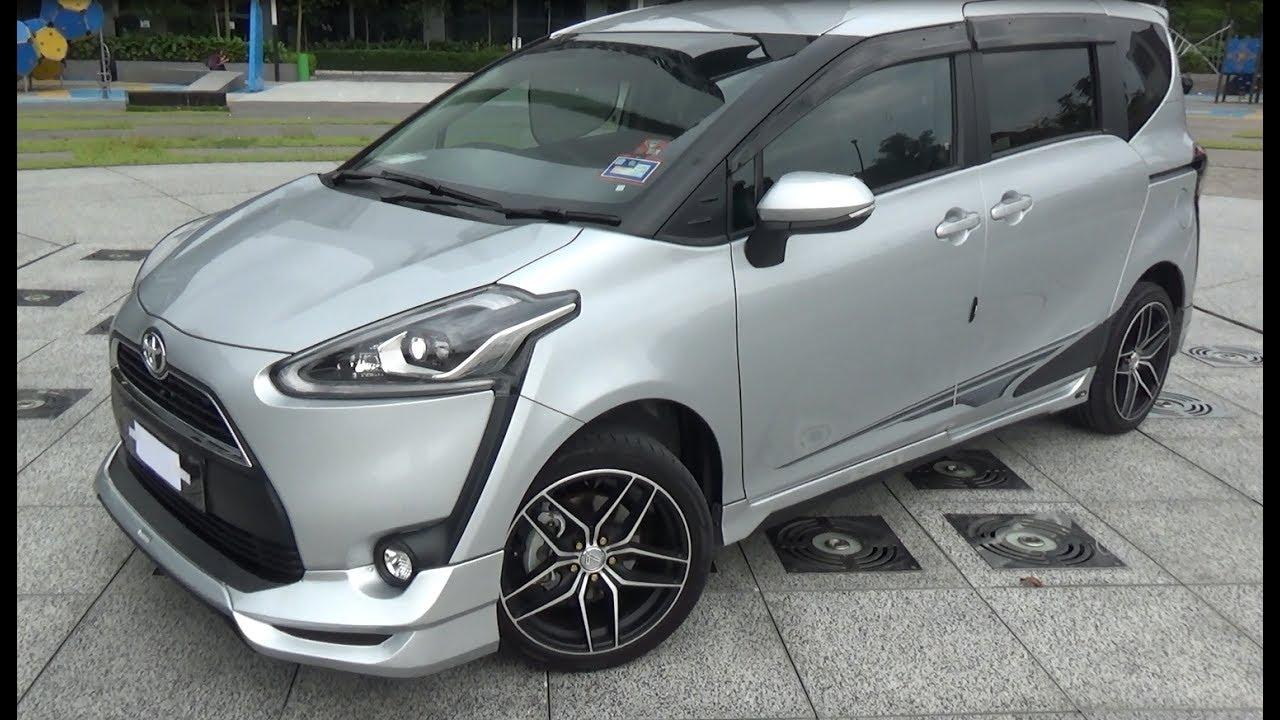 Toyota Sienta Bodykit 2017