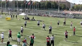 IFAF World Cup Flag Football - USA Vs Mexico - First quarter
