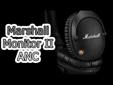 ОБЗОР   Беспроводные наушники Marshall Monitor II ANC
