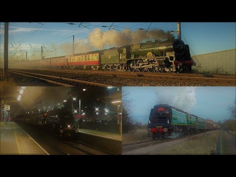 Christmas Steam 2017 - With 46100, 60009 & 34081