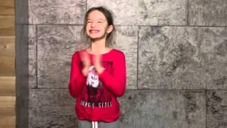 Маша Серова - кастинг на рекламу шоколадной пасты