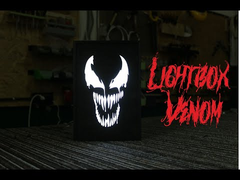 Лайтбокс Веном/ Lightbox Venom