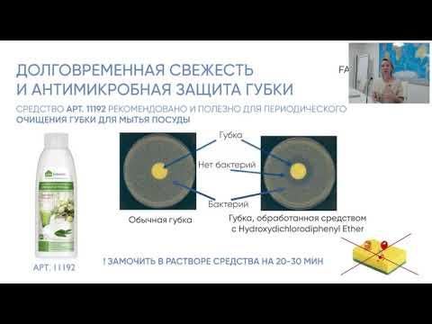 Концентрированное средство для мытья посуды с ароматом эвкалипта Фаберлик