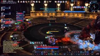 [tera] Aihm Pug - Final Boss - Priest Pov - My First Run Of Akeron's Inferno Hm :3 (nightmare Duras)