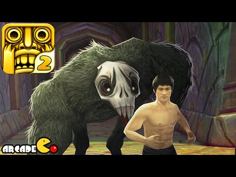 Temple Run 2 Unlock Bruce Lee - My Highest Score Ever!!!