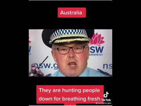 Australia Are hunting people down from breathing fresh air!