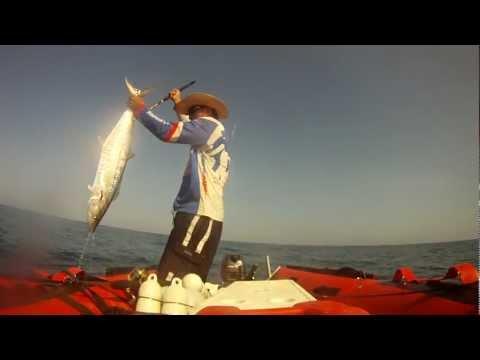 ตกปลาอินทรี กับเรือยาง Dafang